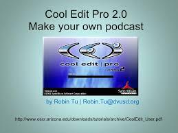 cool edit pro 2.1 crack mac