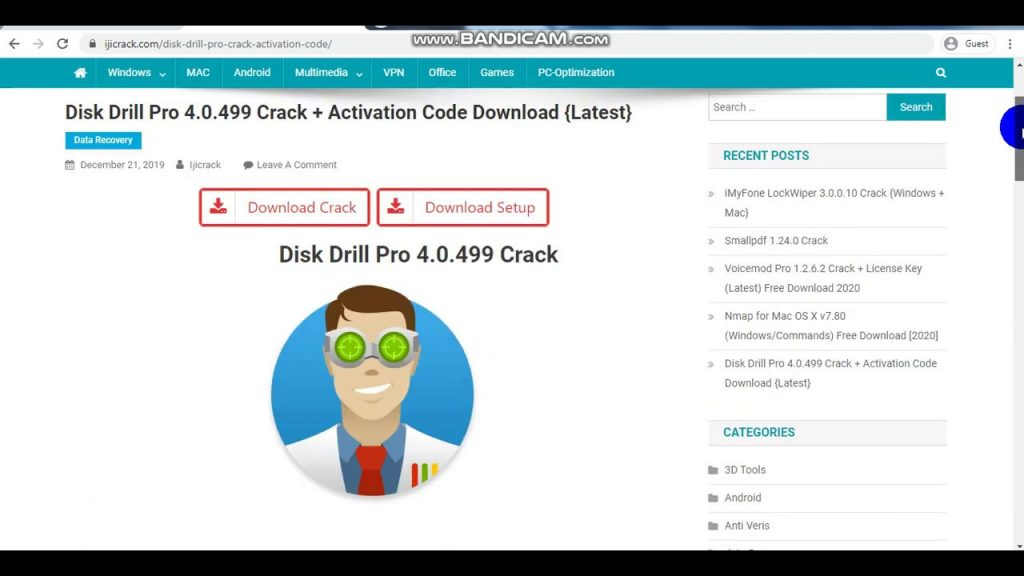 Disk Drill Pro 4.0.518.0 Crack + Activation Code Free 2020