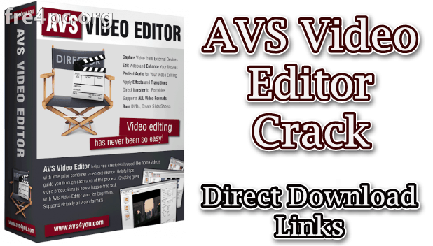 AVS Video Editor 9.2.2.350 Crack Plus Activation Key {2020} Download