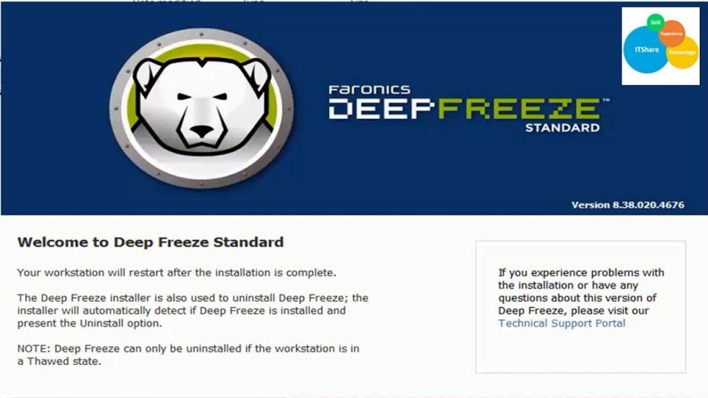 Deep Freeze 8.62 Full Crack + License Key Free Download [Latest]