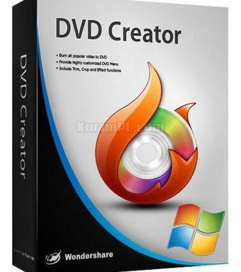 Wondershare DVD Creator 6.3.2.175 Full Crack [Latest] Keygen