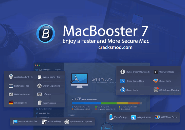 MacBooster 8.1.1 Crack + License Key 2020 (Latest Version) Full Download