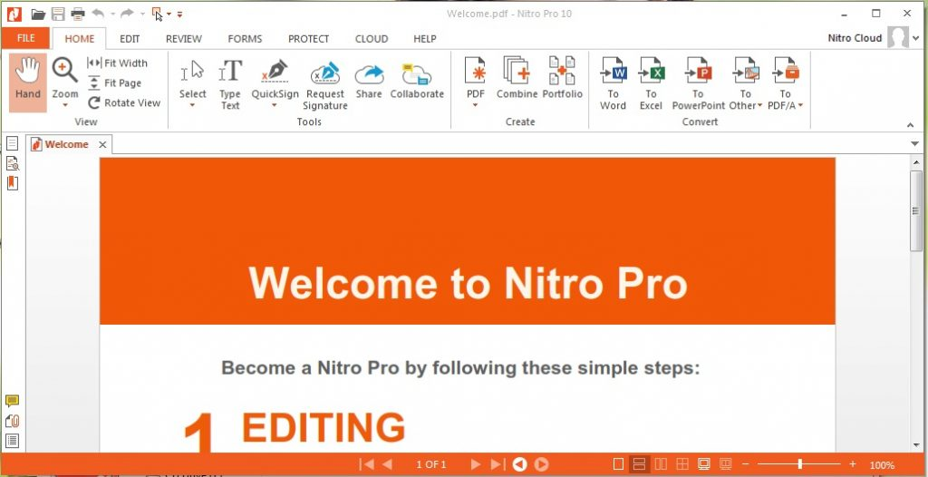 Nitro Pro 13.15.1.282 Crack + Full Version + Serial Key 2020
