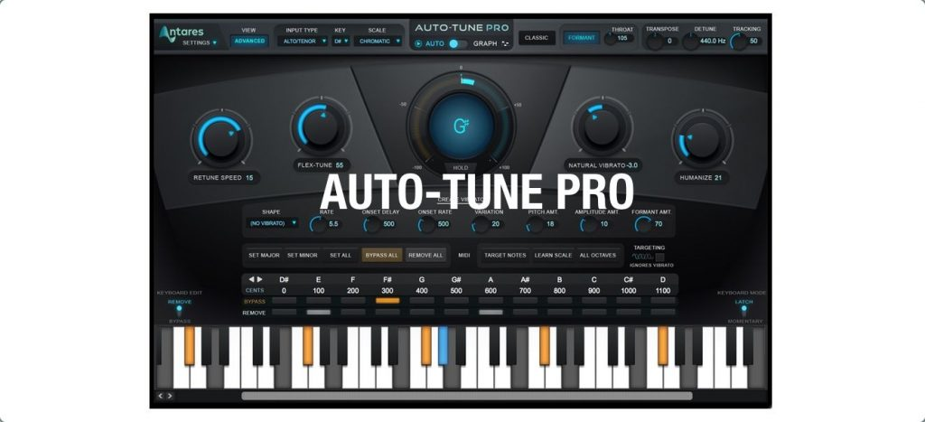 Antares AutoTune Pro 9.1.1 Crack + Keygen With Serial Key Download