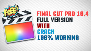 Final Cut Pro X 10.4.8 Crack 2020 Torrent Free Download