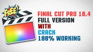 Final Cut Pro X 10.4.8 Crack 2020 Torrent Free Download